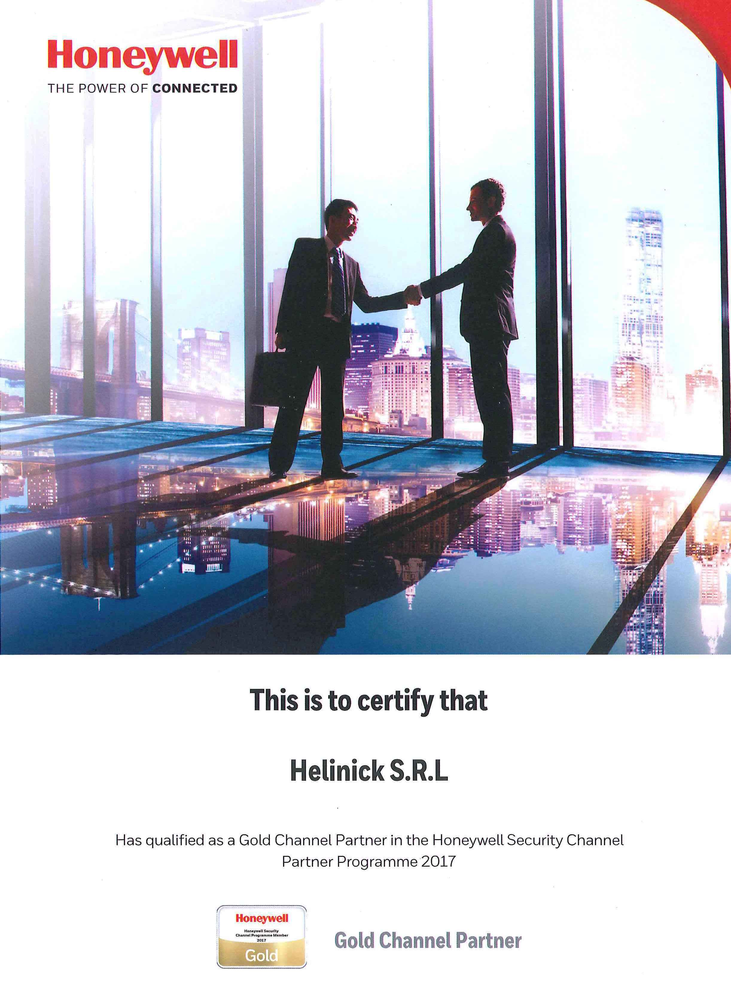 Certificare GOLD2Honeywell